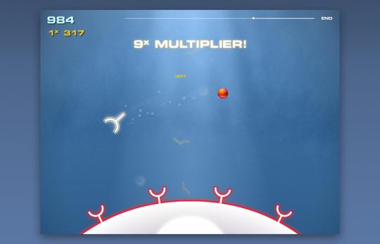 Screenshot of MOA Receptor Game