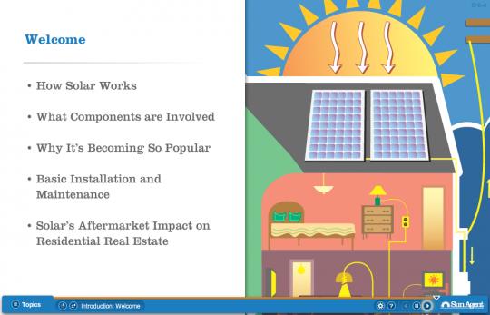 Screenshot of Solar Energy Basics